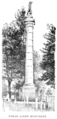 Ethan Allen Monument B & W (Biographical Dictionary of America, vol. 1).png