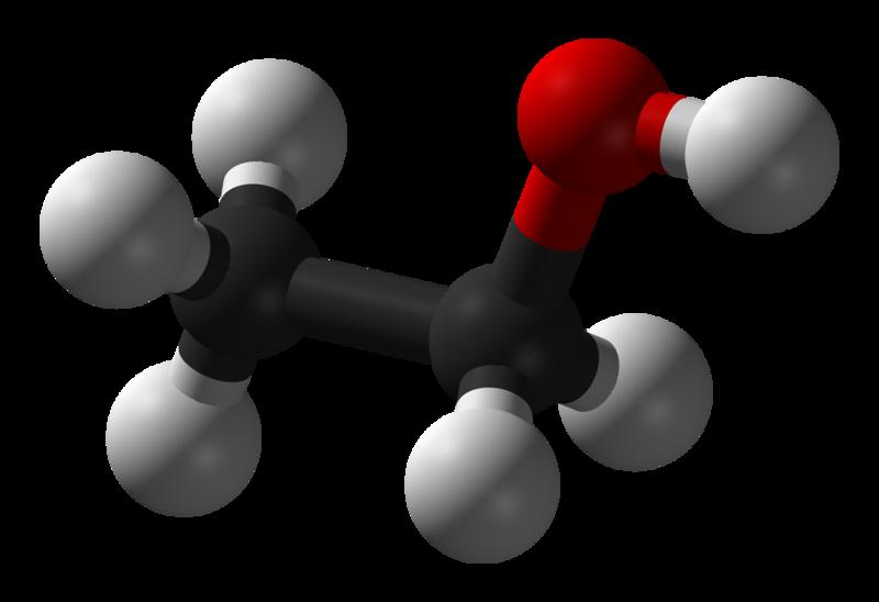 Modell av etanol