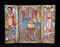 Ethiopian - The Virgin and Child with Archangels, Scenes from the Life of Christ, and Saints - Walters 364 - Open.jpg