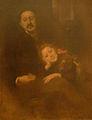 Eugène Carrière-Gabriel Séailles et sa fille.jpg