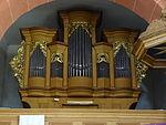Evangelische Kirche Trais-Horloff Orgel 01.JPG