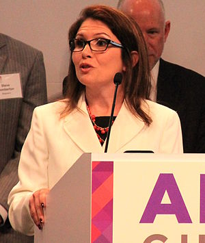 Lieutenant Governor of Illinois - Image: Evelyn Sanguinetti 2015