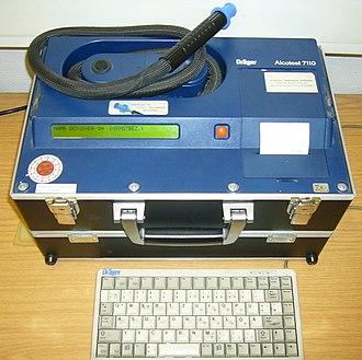 Breathalyzer - An evidential breath tester