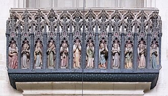 Exeter Cathedral - The Minstrels' Gallery