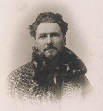 Ezra Pound passport photograph undated
