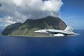 FA-18E Super Hornet of VFA-115 in flight off Kita Iwo Jima in May 2016.JPG