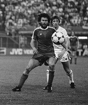 Eintracht Braunschweig - Paul Breitner (left), Eintracht Braunschweig's most prominent signing during the 1970s.