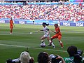 FIFA Women's World Cup 2019 Final - Alex Morgan with ball in penalty area (2).jpg
