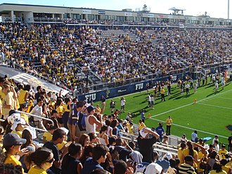 FIU Panthers football - The Panthers play at the on-campus Riccardo Silva Stadium in Miami, Florida.