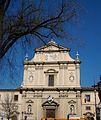 Façana de l'església de Sant Marc de Florència.JPG