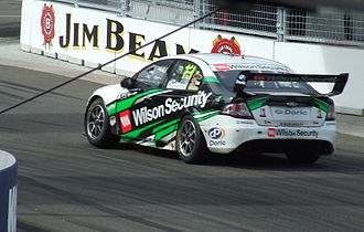 Fabian Coulthard - The Ford FG Falcon of Fabian Coulthard at the 2009 Sydney Telstra 500