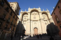 Facade of the Cathedral of Granada (3).JPG