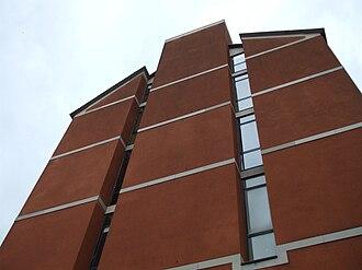 Ignazio Gardella - West facade of the Faculty of Architecture of Genoa