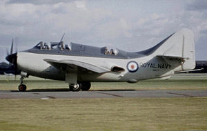 Fairey Aviation Company - Fairey Stockport/Ringway-built Gannet AS.4 in 1956