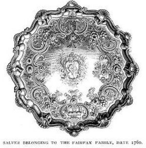 Vaucluse (plantation) - Fairfax family Silver