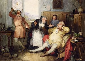 """Falstaff and Mistress Quickly from 'The ..."