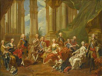 The Family of Philip V (1743) - The Family of Philip V in 1738