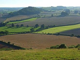 Maiden Bradley - Image: Farmland, Maiden Bradley geograph.org.uk 539210