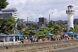 Buenaventura, Valle del Cauca - Seaside park near the main tourist jetty
