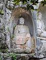 Feilai Feng statues near Lingyin Temple 20090911 1.jpg