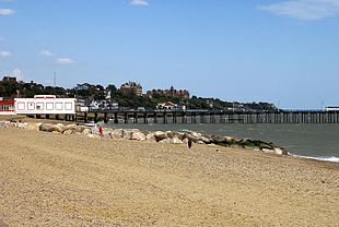 Felixstowe Pier and seafront