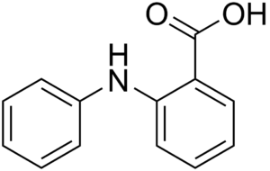 Fenamic acid - Image: Fenamic acid