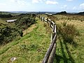 Fence near Lee Moor - geograph.org.uk - 1455953.jpg