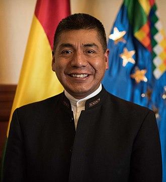 Fernando Huanacuni.