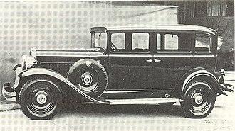 Fiat 524 - Image: Fiat 524 C Series 1 Sedan 1931