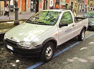Fiat Strada - Image: Fiat Strada Pick Up