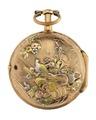 Fickur med boett av guld med motiv i dekoren - Hallwylska museet - 110422.tif