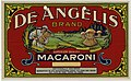 Field Report Exhibit for De Angelis Brand Superior Quality Macaroni Products Consisting of Artwork for the Label with a Product Description Portion Left Blank - NARA - 22475203.jpg