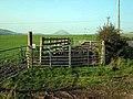 Field gate near Craig Farm, Colmonell - geograph.org.uk - 263114.jpg