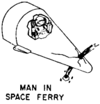 Figure 110.1 MOOSE Operation. Man in space ferry.png