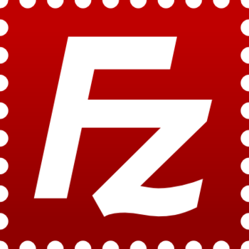 Logotype of FileZilla, the free FTP solution