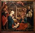 Filippo lippi, adorazione del bambino con s.vincenzo ferrera, 1455-1466, da s. domenico a prato 02.jpg