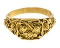 Fingerring av guld, 1700-tal - Hallwylska museet - 110179.tif