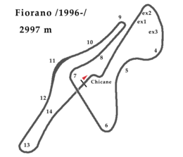 Fiorano 1996 chicane.png