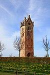 Kerktoren van Firdgum Toren op kerkhof