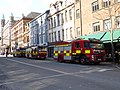 Fire engines, Belfast, March 2015.JPG