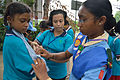 First Aid and Emergency Management Session - Summer Camp - Nisana Foundation - Sibpur BE College Model High School - Howrah 2013-06-08 9154.JPG