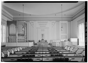 First Presbyterian Church of Ulysses - Image: First Presbyterian Church of Ulysses interior