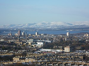 Firth of Forth - Firth of Forth, viewed from Edinburgh Castle