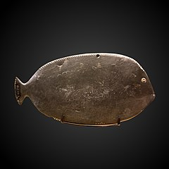 Fish-shaped kohol palette-E 22730