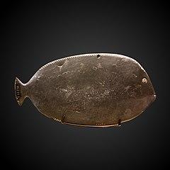 Fish-shaped kohol palette-E 22730