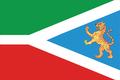 Flag of Khabarovsky rayon (Khabarovsk kray) (2007).png