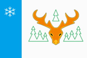 Labytnangi - Image: Flag of Labytnangi (Yamal Nenetsia)