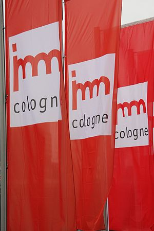 Imm Cologne - Flags of imm Cologne