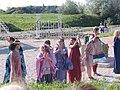 Floralia ünnepén színházi előadás Gorsiumban.jpg
