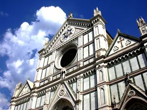 Santa Croce in Florence, Italy